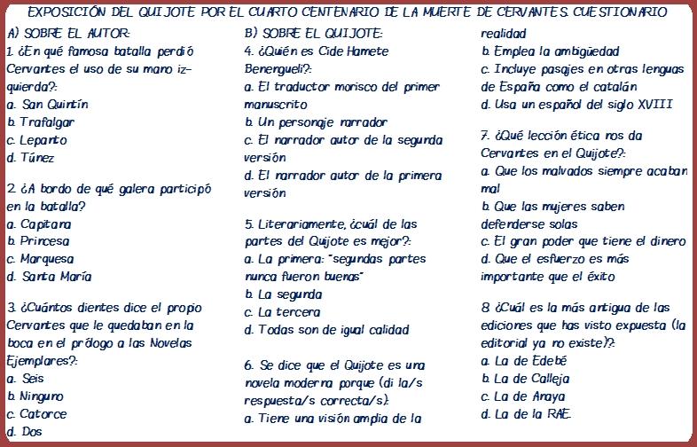 mi cuestionario quijote final