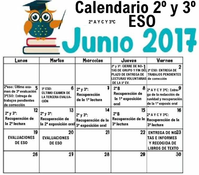 junio 2ºy3º