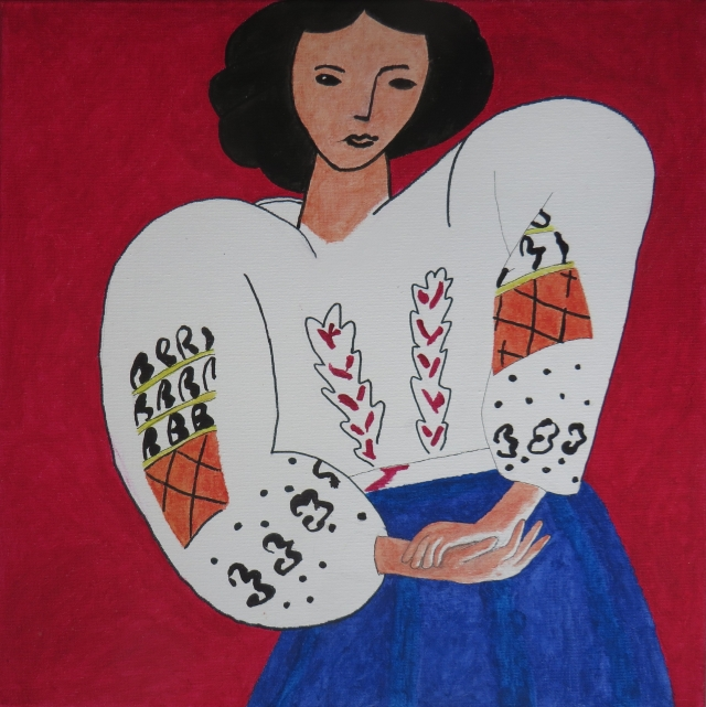 cuadro 14 la blusa rumana